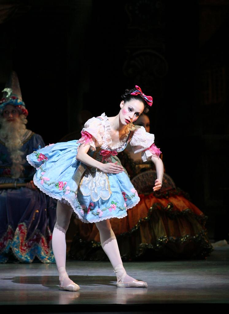 Ballet Arizona's Natalia Magnicaballi in Coppelia. Photo by Rosalie O'Connor