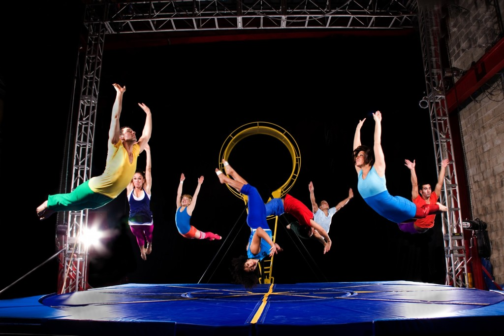 STREB Extreme Action Company in Artificial Gravity (Photo by Tom Caravaglia)