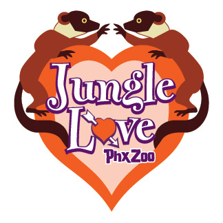 Jungle Love Logo arrow