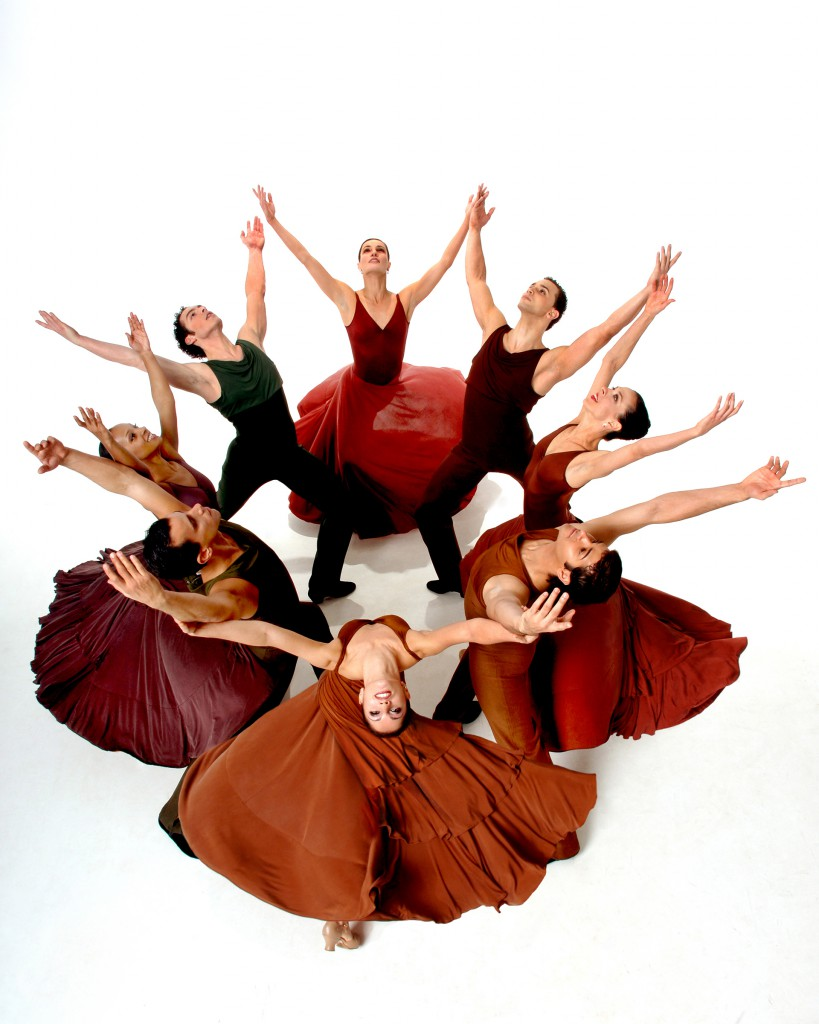 The exhilarating Ballet Hispanico will perform two evenings of Latin-inspired dance on April 9–10, 2010, at Scottsdale Center for the Performing Arts. Photo credit: Eduardo Patino