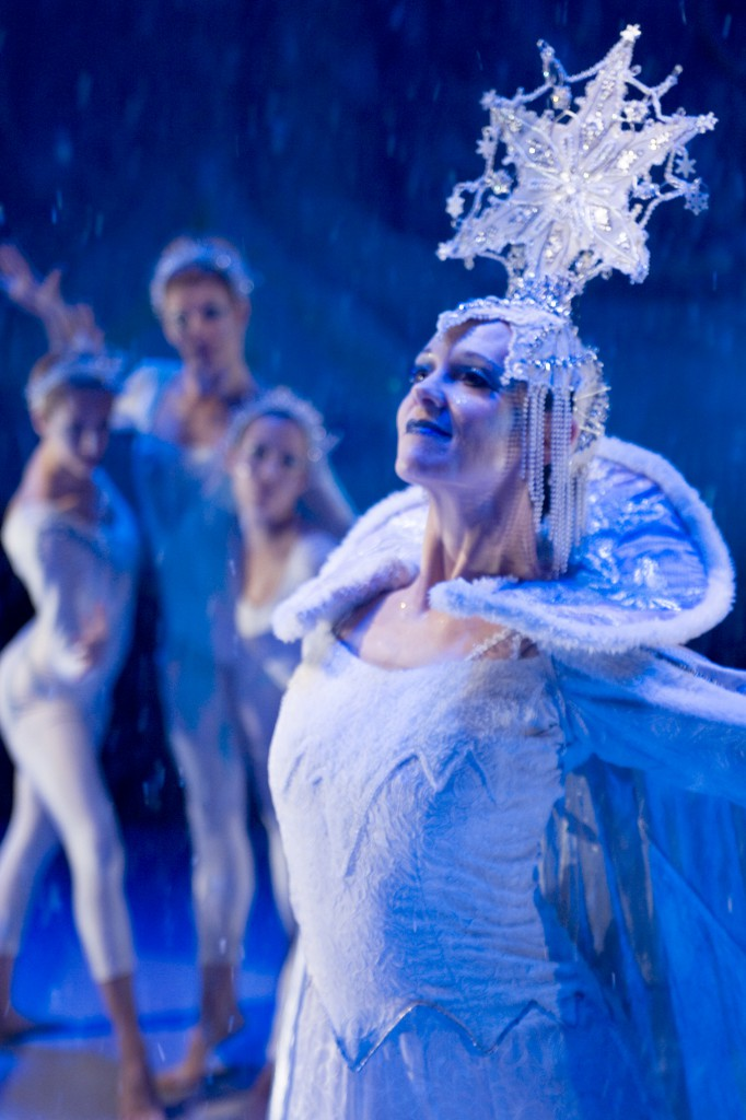 Amber Robins as the Snow Queen.