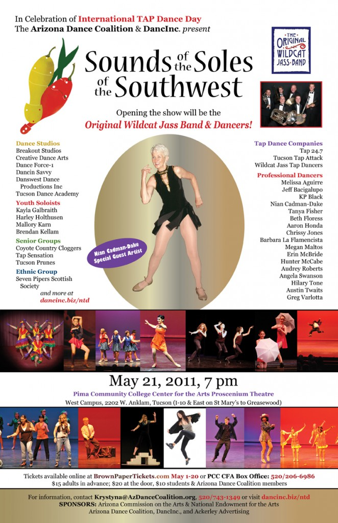 Performance featuring Arizona's top tap talent in Celebration of National TAP Dance Day