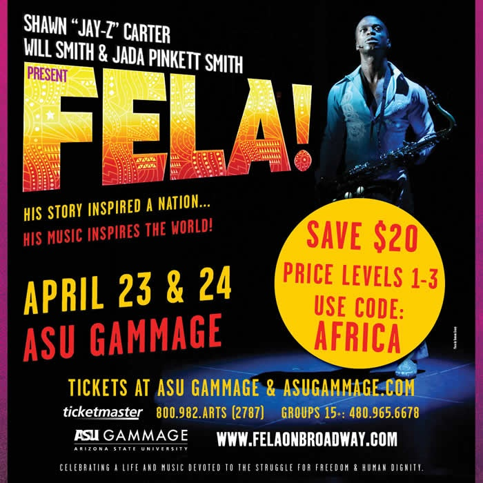 ASU Gammage FELA! Arizona Dance Coalition