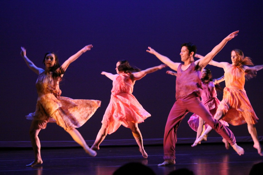 Desert Dance Theatre in The Gathering. Photo by Adam Marr.