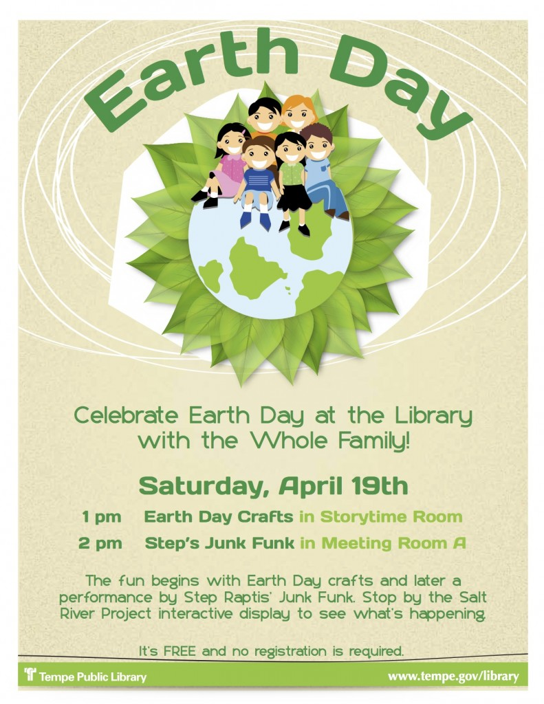 Earth Day Flyer SJF at TPL