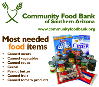 Community Food Bank Tucson Drop Off